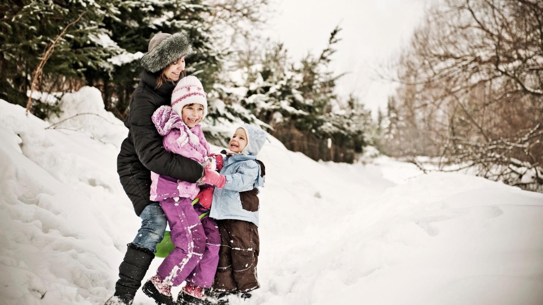 Activités en famille hivernales
