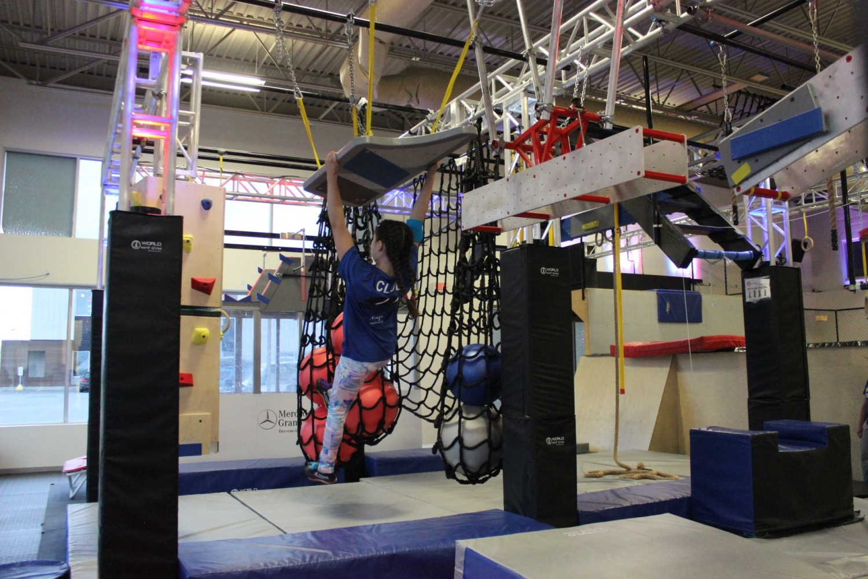 Motion Parc Évolutif, plaisir, amusement, ninja warrior, escalade