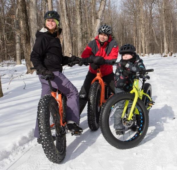 Parc national de la Yamaska, famille, plaisir, nature, hiver